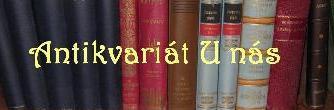 Antikvariát U nás - zajímavé knihy